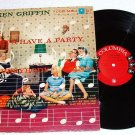 Lets Have a Party by Ken Griffin Columbia lp One Owner