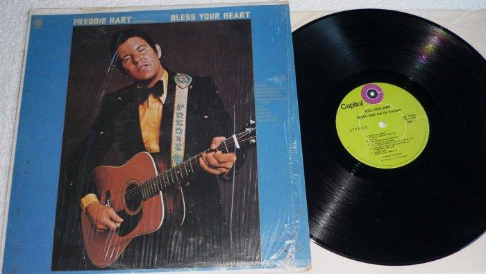 Freddie Hart - Bless Your Heart 1972 lp ST-11073