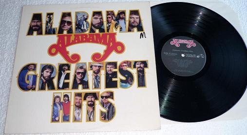 Alabama Greatest Hits 1986 Vinyl lp ahl1-7170 nm- One Owner