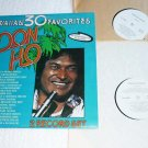 Don Ho Hawaiian 30 Favorites 2 lp Set One Owner Lk New Condition