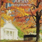Ideals Thanksgiving Magazine 1987 - 0824910559
