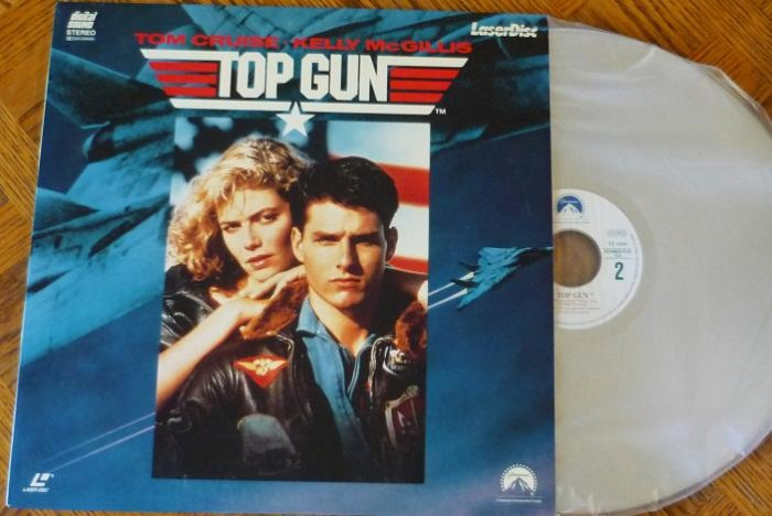 Top Gun Laserdisc Laser Disc Starring Tom Cruise 0792112288