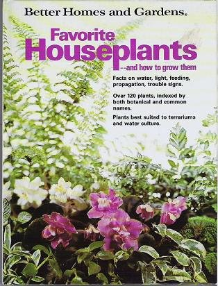 Better Homes and Gardens Favorite Houseplants 0696000652