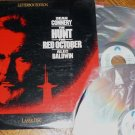 The Hunt for Red October 1990 Laser Disc with Sean Connery and Alec Baldwin