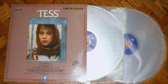 Tess Starring Nastassia Kinski Laser Disc 1981