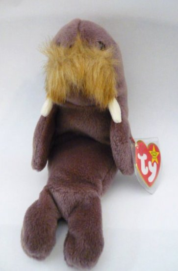 Ty Beanie Baby Jolly the Walrus No. 4082 -1996 Birthdate One Owner