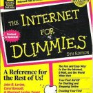 The Internet for Dummies Paperback Easy to Follow Information 0764503545