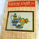 Crewel Craft Kit Coffee Break Motif by Sew n Tell Easy Instructions