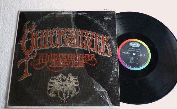Messenger Service lp - Quicksilver 1967 Album One Owner st 2904