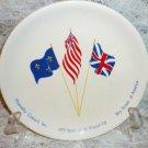 BSA Hiawatha Council Spirit of 1976 Round-Up Souvenir Plate