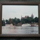 Framed Photo of Boldt Castle on Heart Island in Alexandria Bay NY