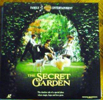 The Secret Garden Rated G 1994 Laserdisc - One Owner