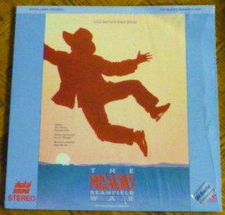 The Milagro Beanfield War Laserdisc Robert Redford Production