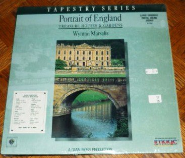 Portrait of England Treasure Houses and Gardens Laserdisc 1989