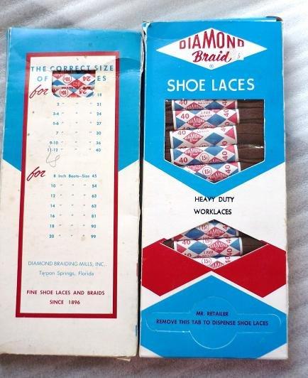 Lot of Diamond Braid Shoe Laces Heavy Duty Brown 40 inch 2 Dozen Pairs
