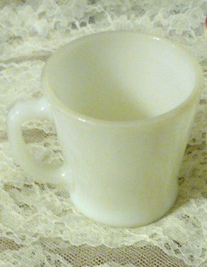 7 Ounce Anchor Hocking Slim Chocolate Mug Cup Rare