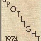 1974 Yearbook Spotlight - Hammond NY School - No Writing- Clean