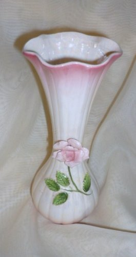 Lovely Iridescent Vase ~ May Be Vintage Norcrest