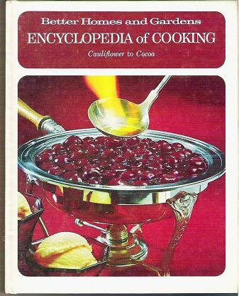 Better Homes Gardens Cooking Encyclopedia 1970 Vol 4