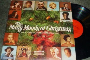 The Many Moods of Christmas 1973 lp Goodyear/cbs P 12013