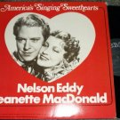 Americas Singing Sweethearts 1978 lp Nelson Eddy Jeanette MacDonald