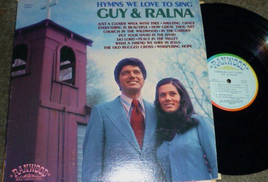 Hymns we Love to Sing lp Stereo R8094 Guy and Ralna