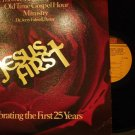 Jesus First lp Celebrating the First 25 Years Jerry Falwell