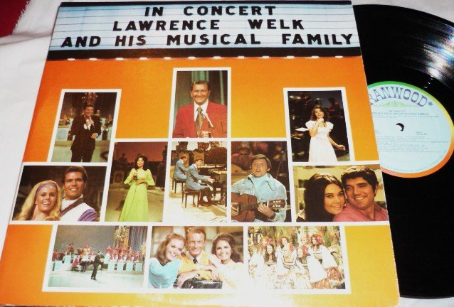 In Concert Lawrence Welk Family Double Record Album 1973 R-6001