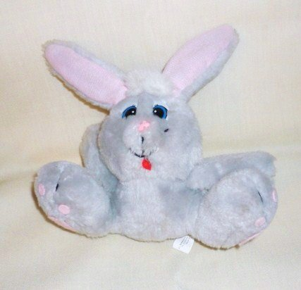 Plush Cottontail Rabbit Made for Houston Foods Vintage 1980s