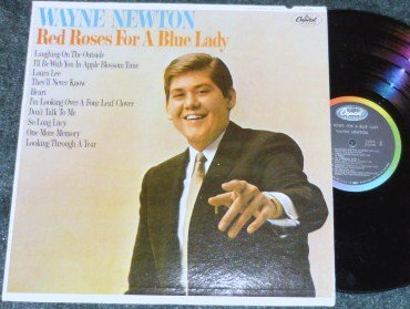 Wayne Newton Red Roses for a Blue Lady 1965 lp T-2335 One Owner