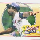 Hank Aaron 1991 Upper Deck Heroes No. 22 Baseball Card