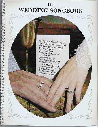The Wedding Songbook by Wade Holbrook 1981