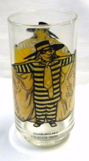 Hamburglar Collector Series McDonalds Glass
