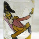 1977 McDonaldland Action Series Captain Crook Glass