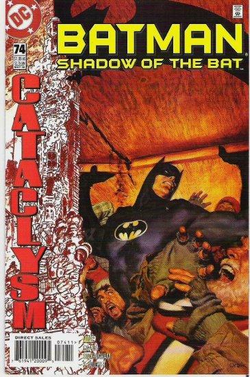 Batman Shadow of the Bat dc Comics No 74 May 1998 Perfect Cond