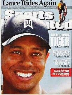 Sports Illustrated Tiger Woods Returns - No Label - March 2 2009