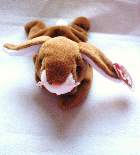 Retired Ty Original Beanie Baby Ears Rabbit April 18 1995 Mint Style 4018