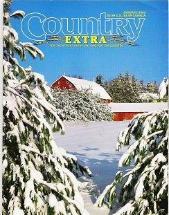 Country Extra Magazine For Those Who Live or Long for the Country January 2005
