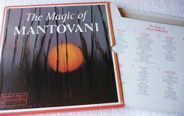 The Magic of Mantovani Box 8 LP Set Readers Digest Exc Cond 1974