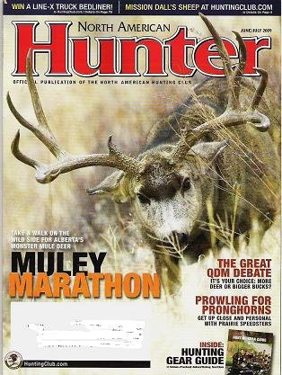 North American Hunter Mag June July 2009 Gear Guide Muley Marathon
