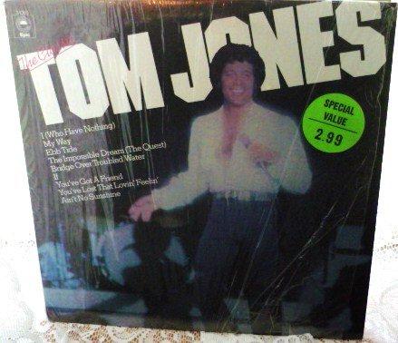 The Classic Tom Jones 1977 lp Epic 34383 NM -