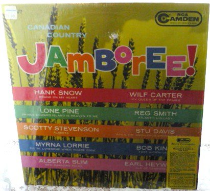 Canadian Country Jamboree lp Numerous Artists nm- Rare w Coupon Attached