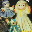 Crochet Sweeties by Leisure Arts 10 pg Pamphlet mm991 1984