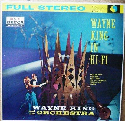 Wayne King in Hi Fi lp dl 78751 1960s