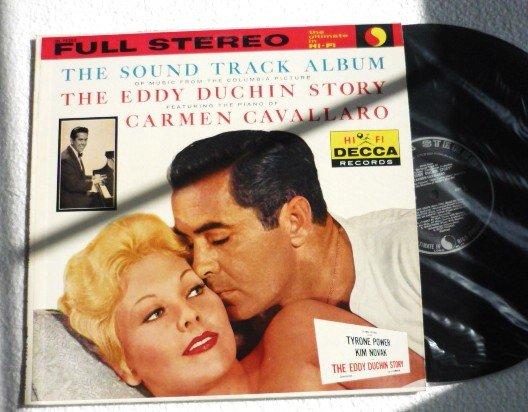 1959 Rare Sound Track Album The Eddy Duchin Story Hi Fi Decca Full Stereo lp dl 78289