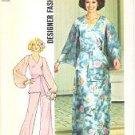 Vintage Simplicity 7259 Designer Fashion Sz 12 Pattern UNCUT