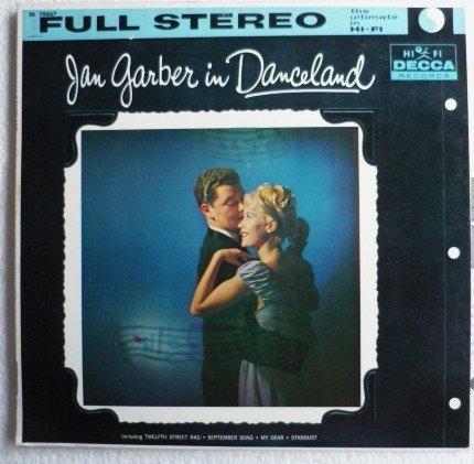 Jan Garber in Danceland dl 78867 lp 1950s - Rare - One Owner