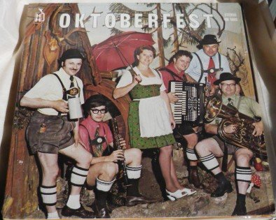 Oktoberfest - Hank Haller Orchestra Polka Stereo lp hh 5005