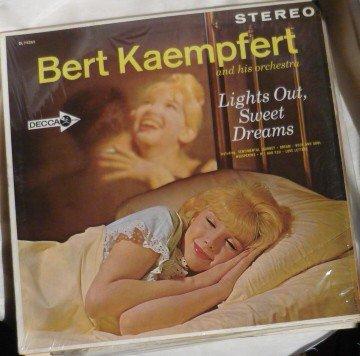 Lights Out Sweet Dreams Stereo lp - Bert Kaempfert dl74265 - 1963