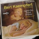 Lights Out Sweet Dreams Stereo lp - Bert Kaempfert dl74265 - 1963